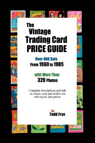 The Vintage Trading Card Price Guide: Todd Frye
