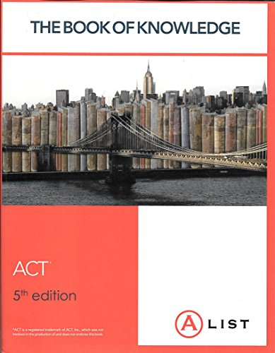 9780989160551: The Book of Knowledge - ACT 5th Edition