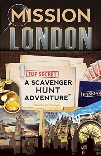9780989226721: Mission London: A Scavenger Hunt Adventure (For Kids)