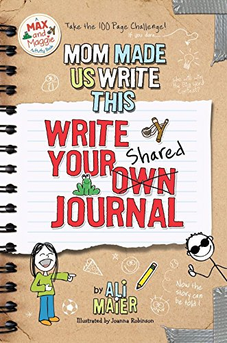 9780989375542: Mom Made Us Write This: Write Your Own Shared Journal