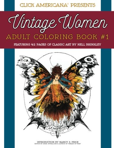 9780989390934: Vintage Women: Adult Coloring Book: Classic art by Nell Brinkley