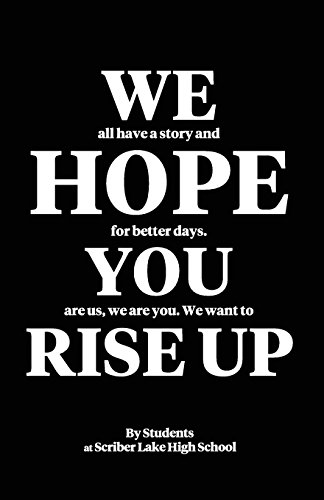 9780989438124: We Hope You Rise Up