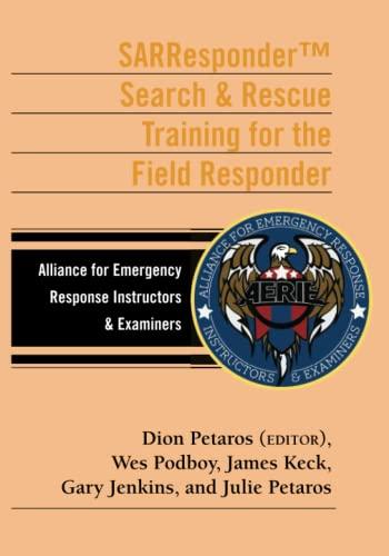 9780989444934: SARResponder B&W: Search & Rescue Training for the Field Responder