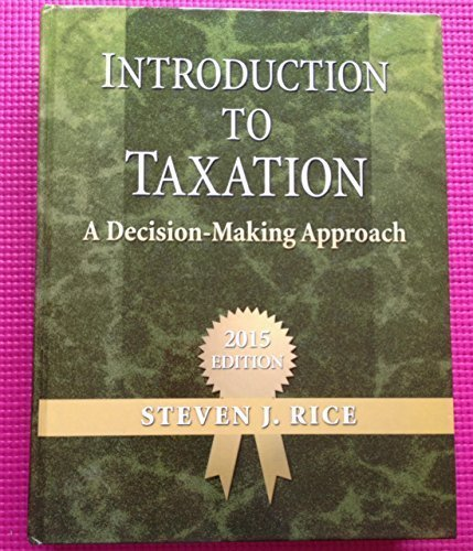 9780989500517: Introduction to Taxation