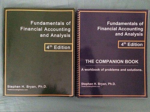 9780989504515: Fundamentals of Financial Accounting and Analysis 4th edition