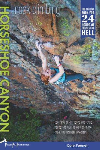 Rock Climbing Horseshoe Canyon: Cole Fennel