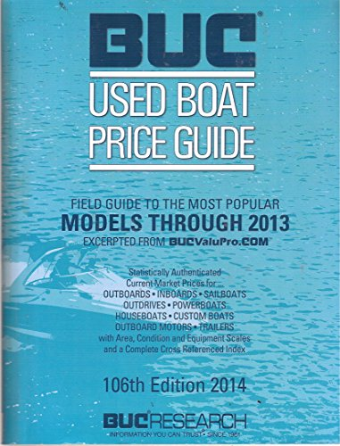 9780989556804: BUC Used Boat Price Guide 106th Edition