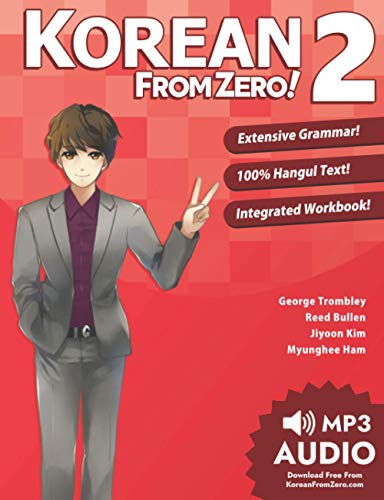 9780989654531: Korean From Zero! 2: Continue Mastering the Korean Language with Integrated Workbook and Online Course
