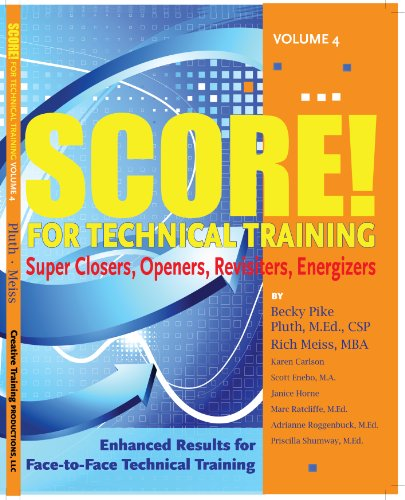 SCORE for Technical Training, volume 4: Pluth, Becky Pike; Meiss, Rich