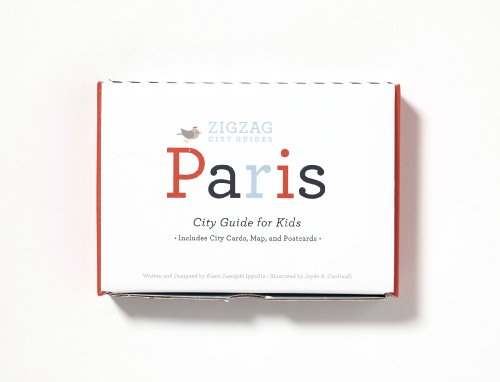 9780989734318: ZigZag City Guide to Paris (Travel guide for kids ages 5 and up)