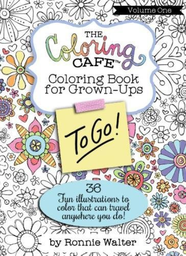 9780989826686 The Coloring Cafe To Go Volume One