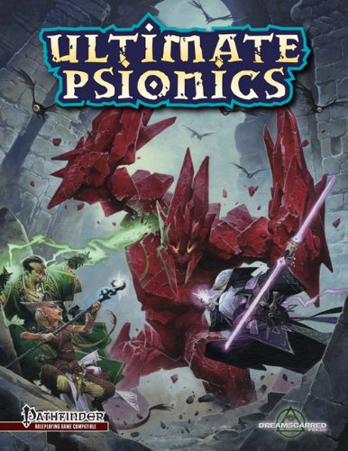 Ultimate Psionics (Pathfinder, DRP2600) Jeremy Smith; Andreas