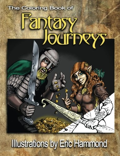 9780990336631: The Coloring Book of Fantasy Journeys