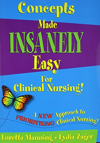 9780990354215: Concepts Made Insanely Easy for Clinical Nursing!