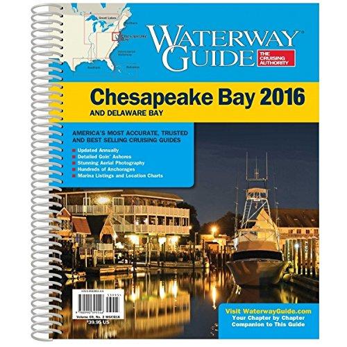 9780990395546: Waterway Guide 2016 Chesapeake Bay