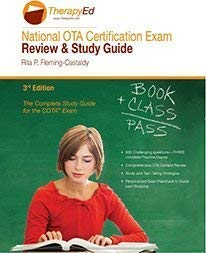 9780990416210: National OTA Certification Exam Review and Study Guide