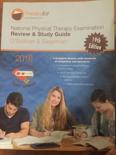 National Physical Therapy Examination Review and Study: O'Sullivan; Siegelman