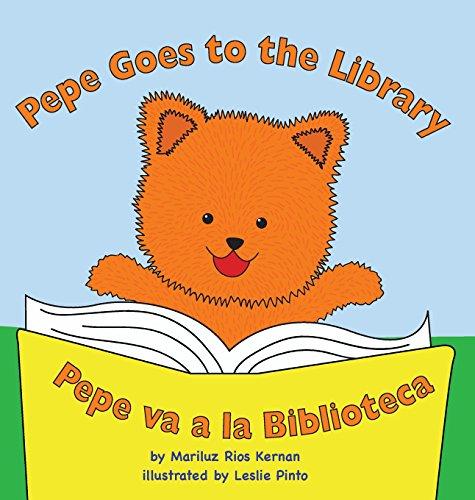 9780990552512: Pepe Goes to the Library: Pepe Va a la Biblioteca (Multilingual Edition)