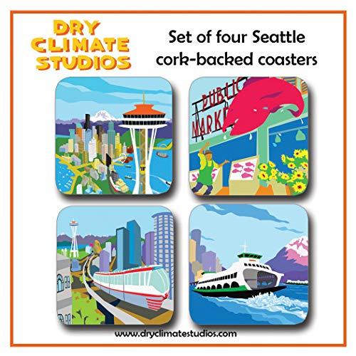 9780990685869: Seattle Coaster Set (Alphabet Cities)