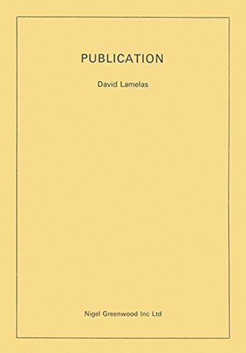 David Lamelas: Publication: Arnatt, Keith; Barry,