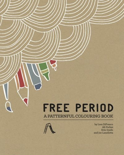 9780990914426: Free Period: A Patternful Colouring Book
