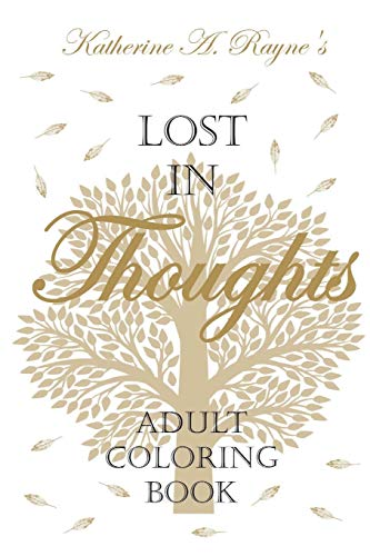 9780991055265: Lost in Thoughts: Adult Coloring Book