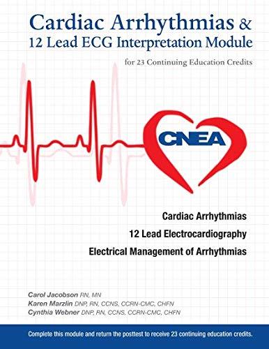 9780991074433: Cardiac Arrhythmias & 12 Lead ECG Interpretation Module