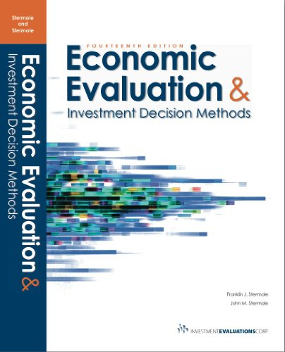 9780991194100: Economic Evaluation & Investment Decision Methods