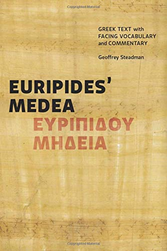 9780991386062: Euripides' Medea: Greek Text with Facing Vocabulary and Commentary