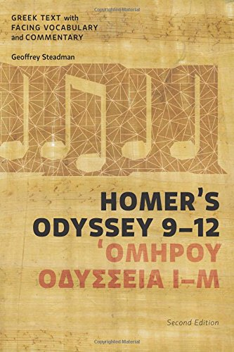 9780991386086: Homer's Odyssey 9-12: Greek Text with Facing Vocabulary and Commentary