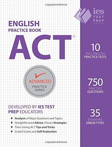 9780991388370: ACT English Practice Book (Advanced Practice Series) (Volume 7)