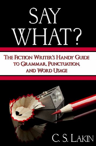 9780991389407: Say What?: The Fiction Writer's Handy Guide to Grammar, Punctuation, and Word Usage