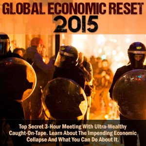 9780991393619: The Global Economic Reset. The day the U.S. dollar collapse happens.