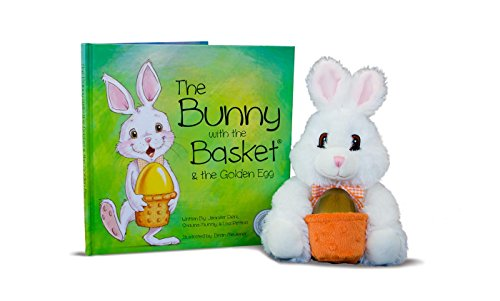 9780991532506: The Bunny With the Basket & the Golden Egg Easter Book