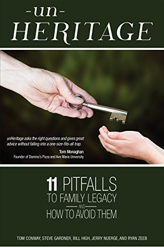 9780991609420: unHeritage: 11 Pitfalls to Family Legacy and How to Avoid Them