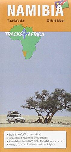 9780992182946: Namibia GPS-Tracks Karte 1 : 1 000 000
