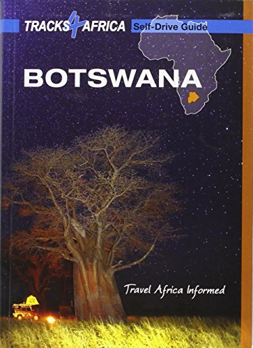 9780992182953: Botswana Self-Drive Guide tracks