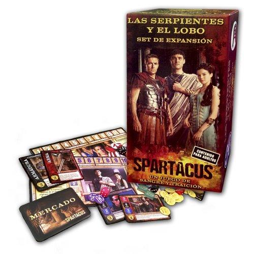 9780992251642: Spartacus El Serpiente Y El Lobo: Expansión Set (Spanish Edition)