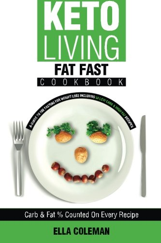 9780992402952: Keto Living - Fat Fast Cookbook: A Guide to Fasting for Weight Loss Including 50 Low Carb & High Fat Recipes (Volume 4)