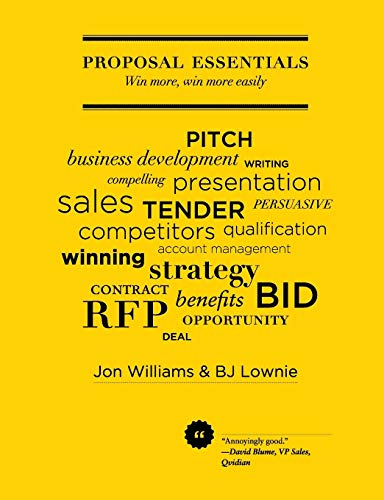 9780992615000: Proposal Essentials - Win more, win more easily