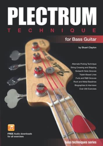 9780992626846: Plectrum Technique for Bass Guitar