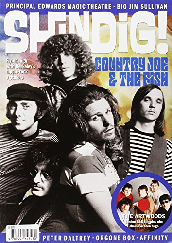 9780992643430: Shindig! No.36: Country Joe & the Fish: Flying High with Berkeley's Hippie-rock Agitators