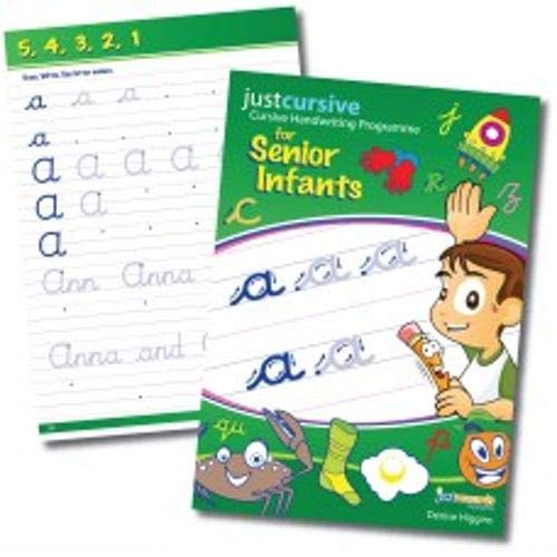 9780992900601: Just Cursive - Senior Infants