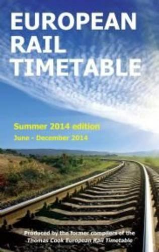 9780992907303: European Rail Timetable 2014: Summer