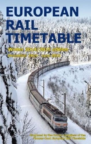 9780992907310: European Rail Timetable Winter 2014 - 2015