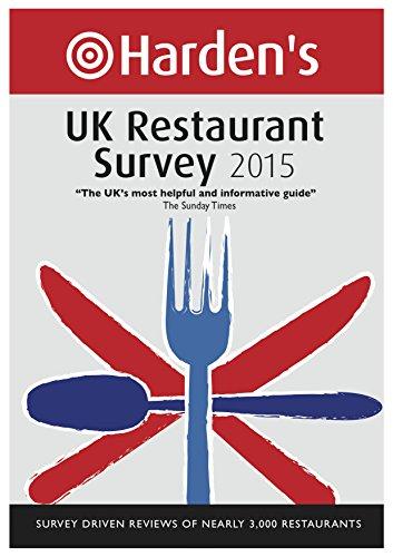 Harden's UK Restaurant Survey 2015 (Hardens Restaurant Guides): Harden, Richard