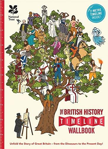 9780993019920: The British History Timeline Wallbook: Unfold the Story of Great Britain - From the Dinosaurs to the Present Day!: From the Dinosaurs to the Present Day (Timeline Wallbooks)