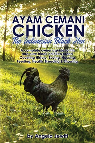 Ayam Cemani Chicken - The Indonesian Black Hen. A complete owner's guide to this rare pure ...