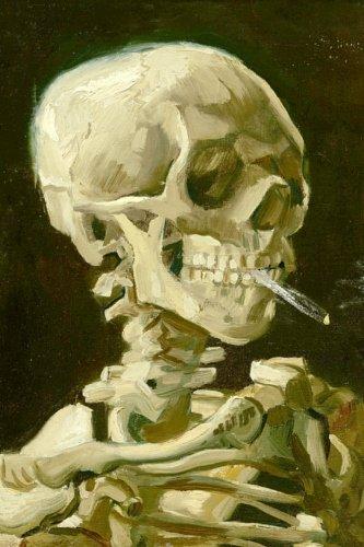 9780993196041: Vincent Van Gogh Skeleton Journal: 160 Page Lined Journal/Notebook