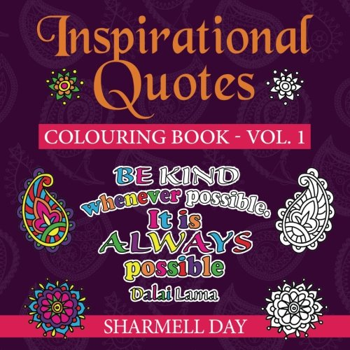 9780993196089: Inspirational Quotes: Colouring Book (Volume 1)